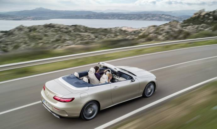2017 Mercedes E-Class Cabriolet UK pricing announced