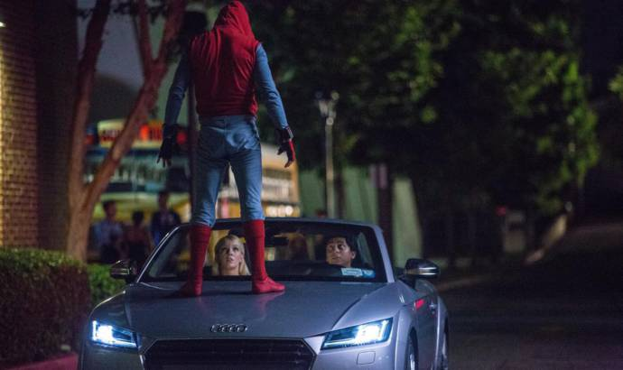 2018 Audi A8 to be unveiled in Spiderman movie