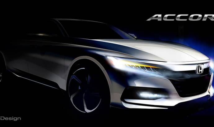 2018 Honda Accord teaser image unveiled