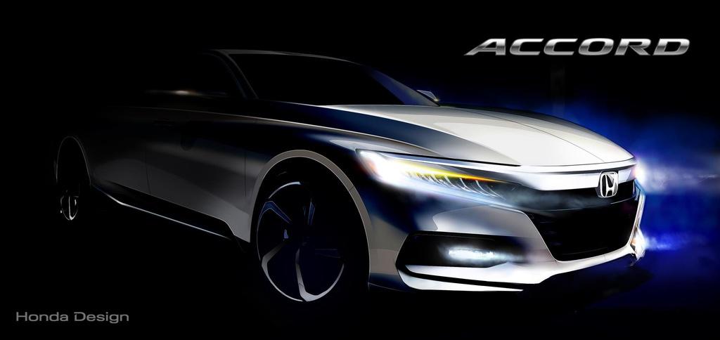 2018 Honda Accord teaser image unveiled