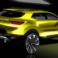 2018 Kia Stonic - First design sketches