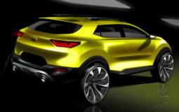2018 Kia Stonic - First design sketches