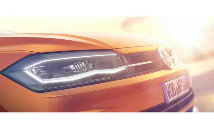 2018 Volkswagen Polo - Official teaser pictures