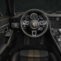 911 Turbo S Exclusive Series is a 500 units limited edition with exterior, interior and performance tweaks