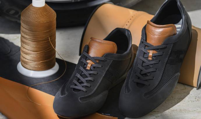 Aston Martin and Hogan launch a new pair of sneakers