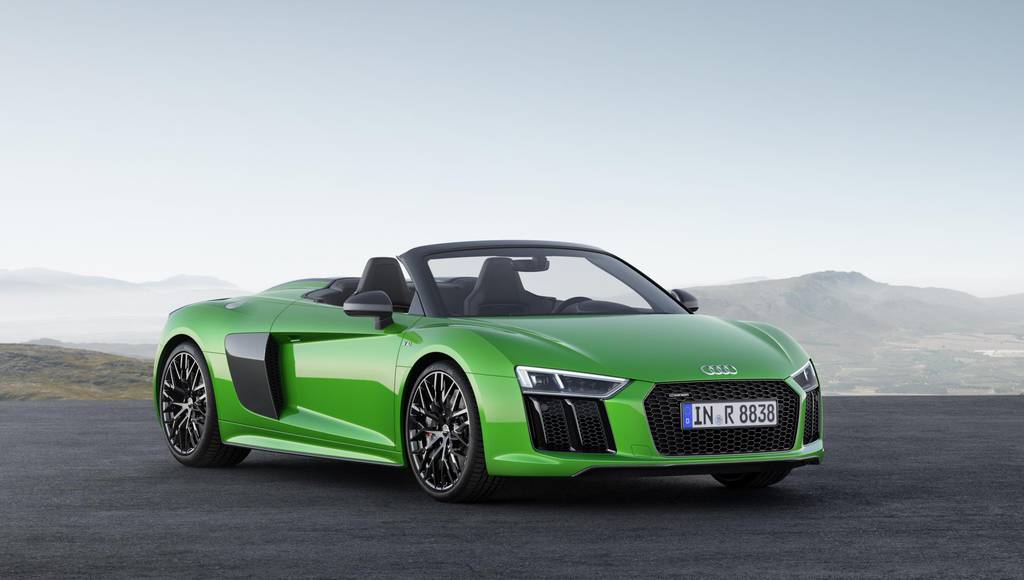 Audi R8 V10 Spyder Plus officially introduced