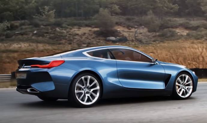 BMW 8 Series Concept has a breathtaking promo