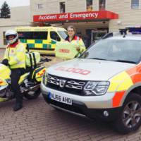 Dacia Duster becomes emergency vehicle in UK