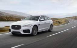 Jaguar XF Sportbrake unveiled by Andy Murray