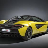 McLaren 570S Spider unveiled