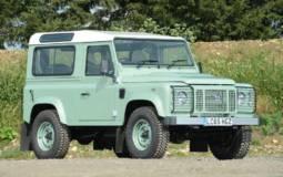 Mr Bean Land Rover Defender Heritage 90 for sale