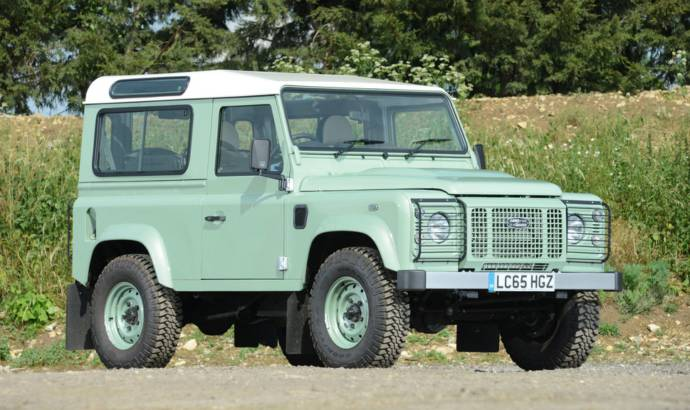 Mr Bean Land Rover Defender Heritage 90 for sale