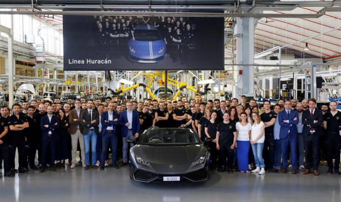 Production record for Lamborghini: 8.000 Huracan produced in 3 years