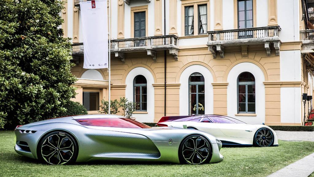 Renault Trezor was voted most beautiful concept car at Villa d'Este