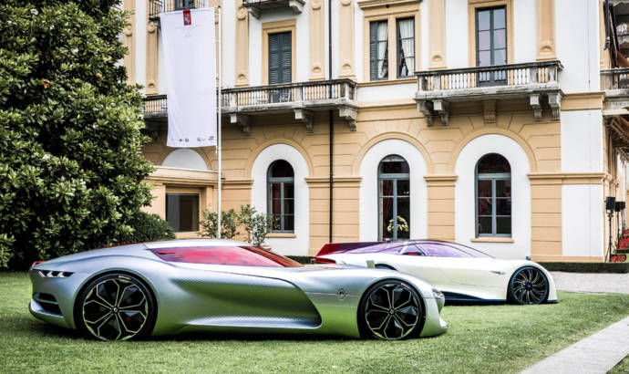 Renault Trezor was voted most beautiful concept car at Villa d'Este