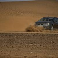 Seat Leon X-Perience tested in Sahara desert
