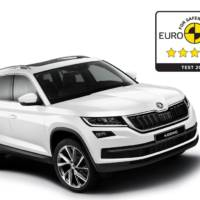 Skoda Kodiaq awarded five stars by EuroNCAP