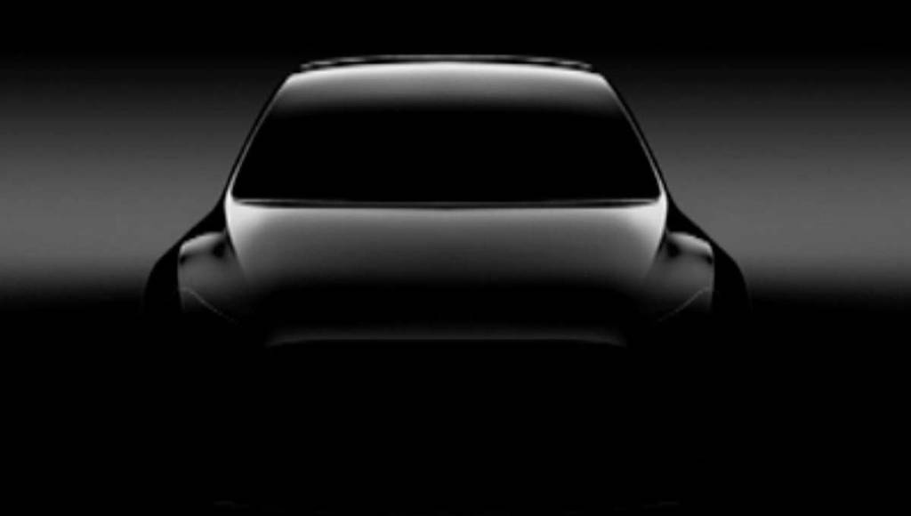 Tesla Model Y - First teaser picture