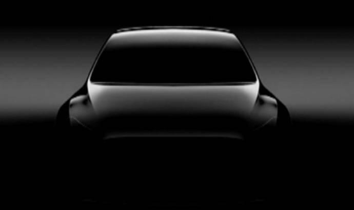 Tesla Model Y - First teaser picture
