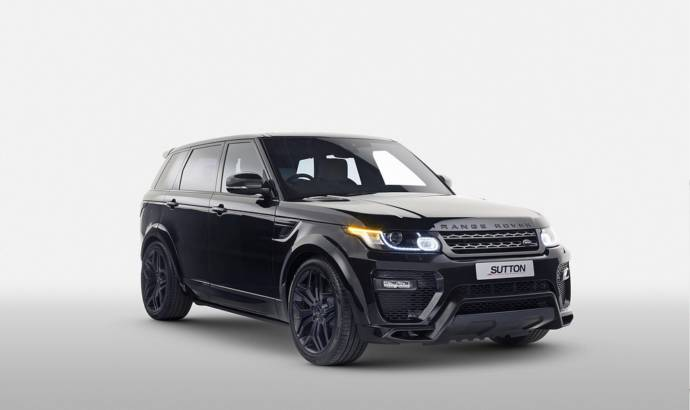 Clive Sutton Range Rover priced in UK
