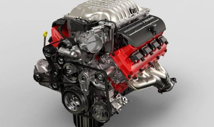 Dodge Challenger SRT Demon engine detailed