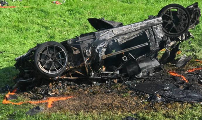 Richard Hammond had a massive crash in a Rimac Concept One