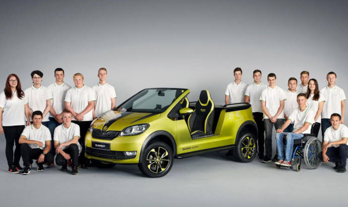 Skoda Element concept is an electric buggy
