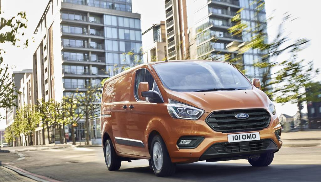 2018 Ford Transit Custom updated