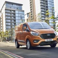 2018 Ford Transit Custom updated