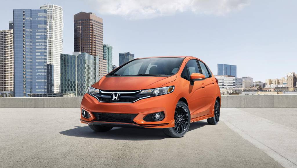 2018 Honda Fit launched in the US