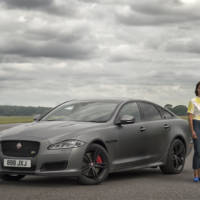 2018 Jaguar XJR575 has 575 horsepower and can do 300 km/h