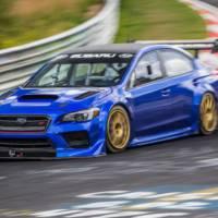A special Subaru WRX STI set a new lap record around the Nurburgring