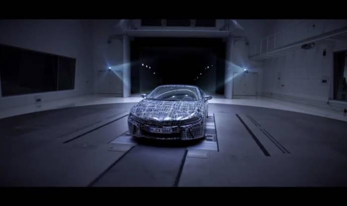BMW i8 Roadster - First teaser video