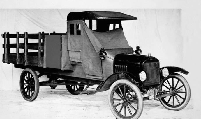 Ford celebrates 100 years of pick-up truck history