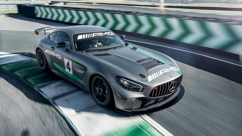 Mercedes-AMG GT4 - Official pictures and details