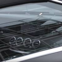 Mercedes-Benz S-Class Cabrio facelift - Video with the interior