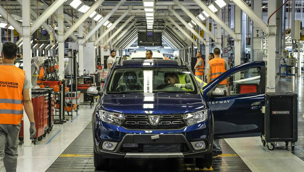 Moroccan Dacia plant reaches one millionth unit produced