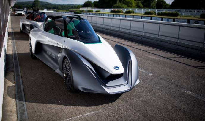 Nissan Bladeglider celebrates 70 years since the first electric vehicle