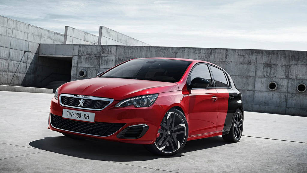 Peugeot is working on a Golf R rival