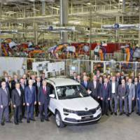 Skoda Karoq enters production