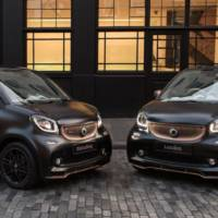 Smart Brabus Fortwo and Forfour receive Disturbing London edition