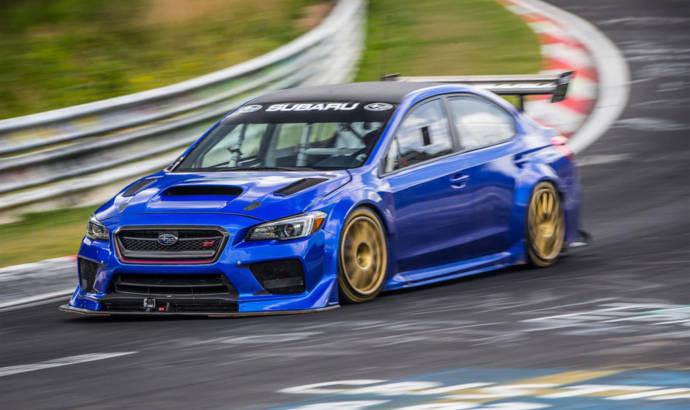 Subaru WRX STI Type RA NBR Special sets Nurburgring record