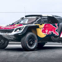 This is the new Peugeot 3008 DKR Maxi