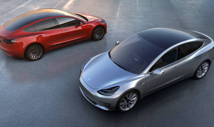 First Tesla Model 3 example is out