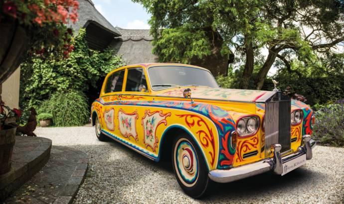 John Lennon psychedelic Rolls Royce Phantom V to return to London