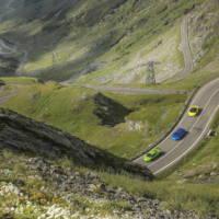 Lamborghini Huracan conquered the Transfagarasan Highway