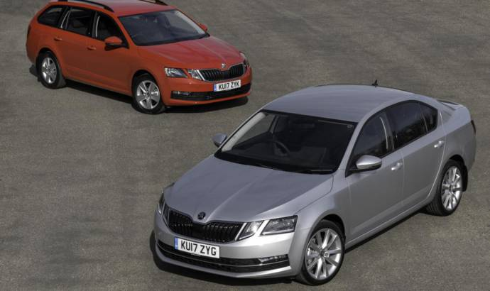 Skoda Octavia and Superb receive new petrol engines in UK