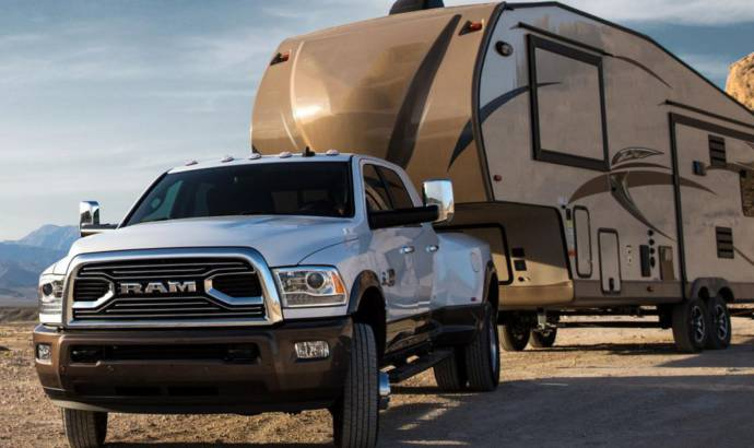 2018 Ram 3500 HD has 930 lb-ft and can tow up to 30.000 pounds