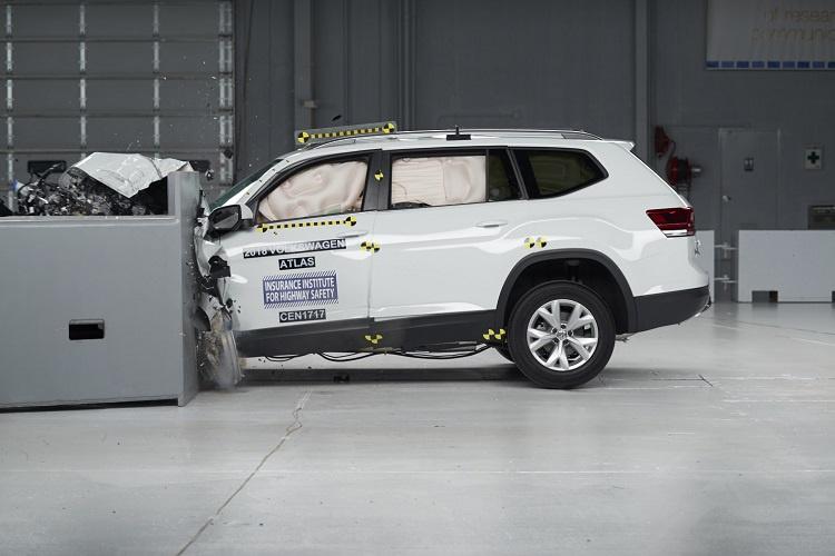 2018 Volkswagen Atlas receives Top Safety Pick from IIHS