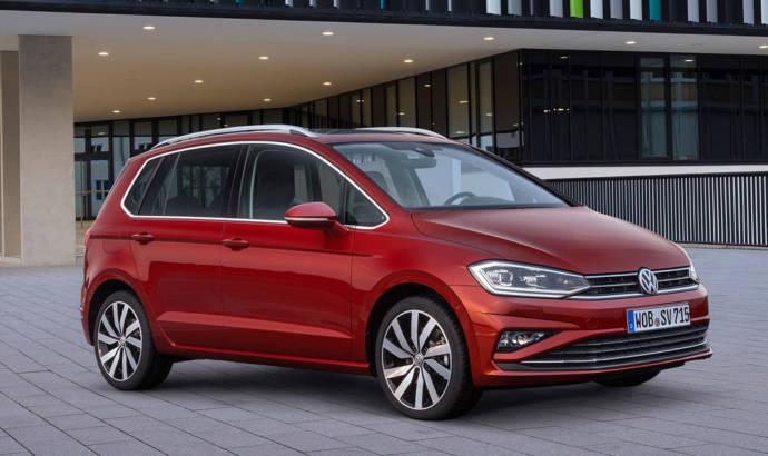 2018 Volkswagen Sportsvan facelift - Official pictures and details